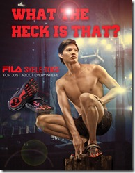 4Borgy Manotoc for Fila Skel-toes