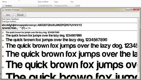 install font-unasalahat