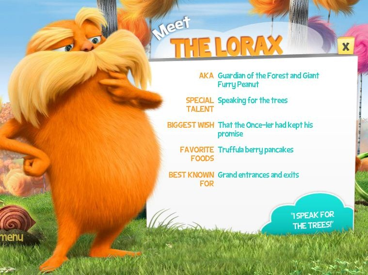 Movie Watch: Dr. Seuss' The Lorax: An IMAX 3D Experience ...