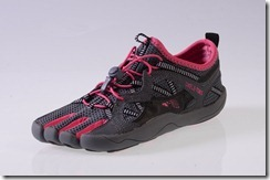 Skele-toes Bayrunner Women's Black Fuschia Pink