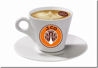 Jcoccino with coffee bean