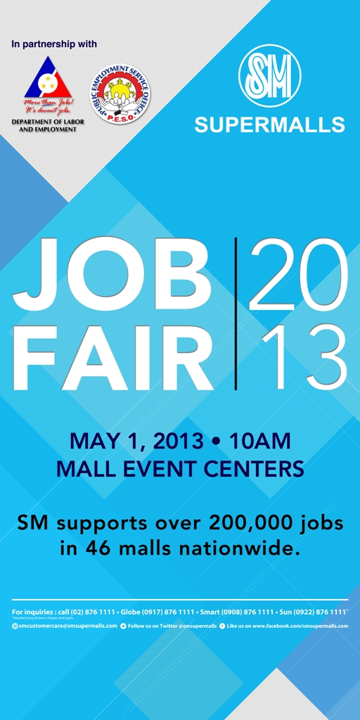 Job Fair Blue