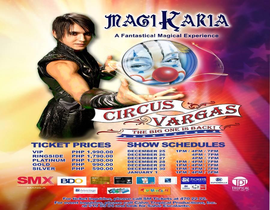 Circus vargas coupons