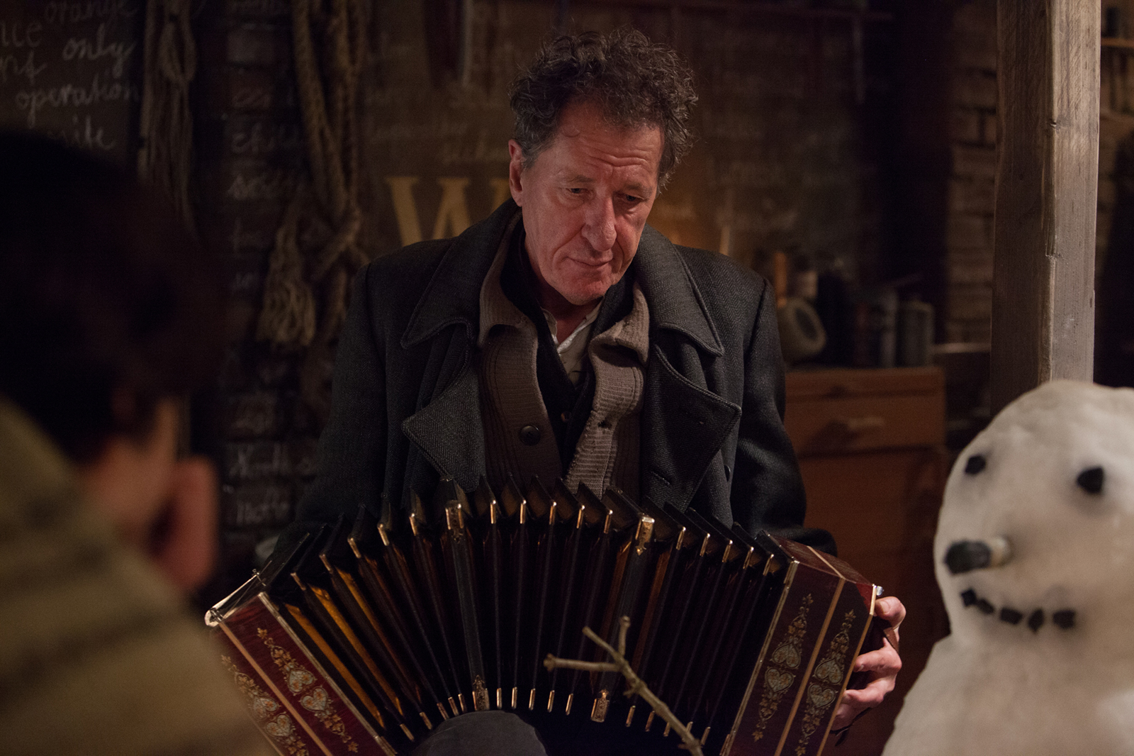 the book thief lessons teach award winning actors geoffrey rush and emily watson in the book