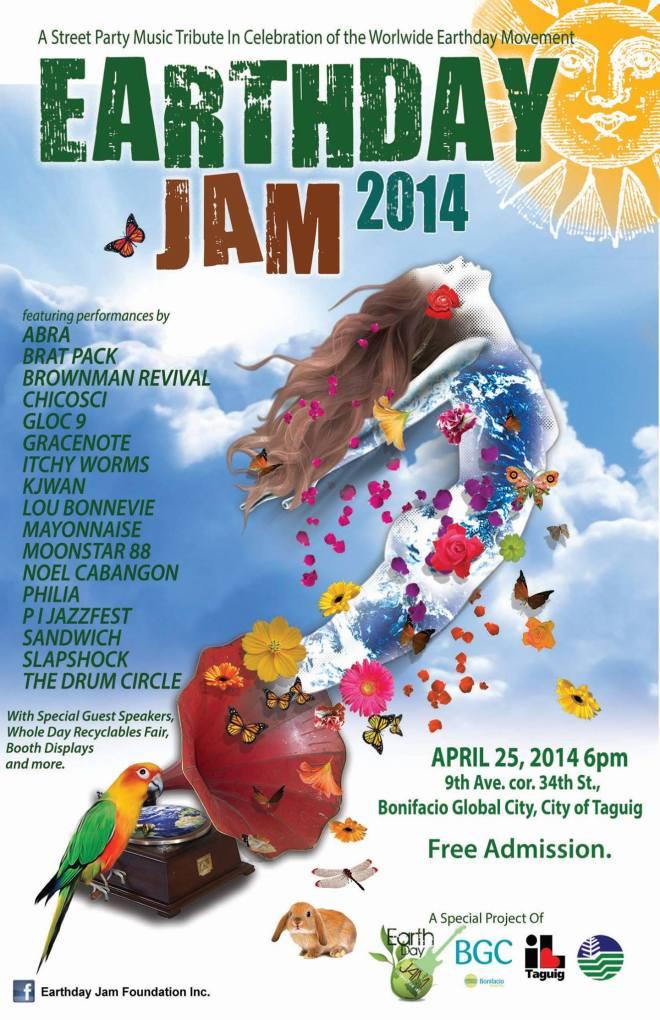 earthday Jam 2014