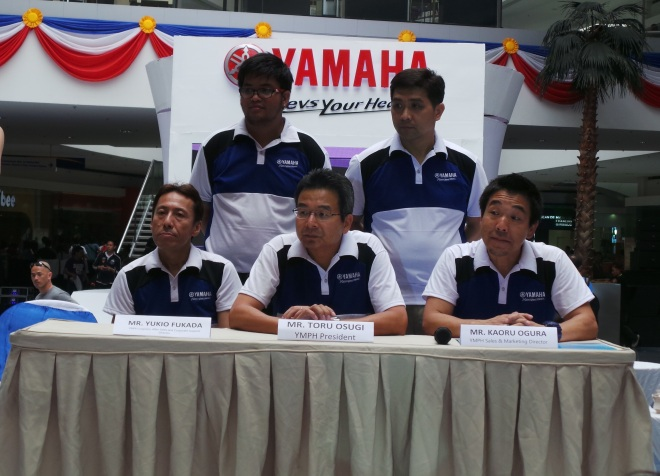 Yamaha Executives