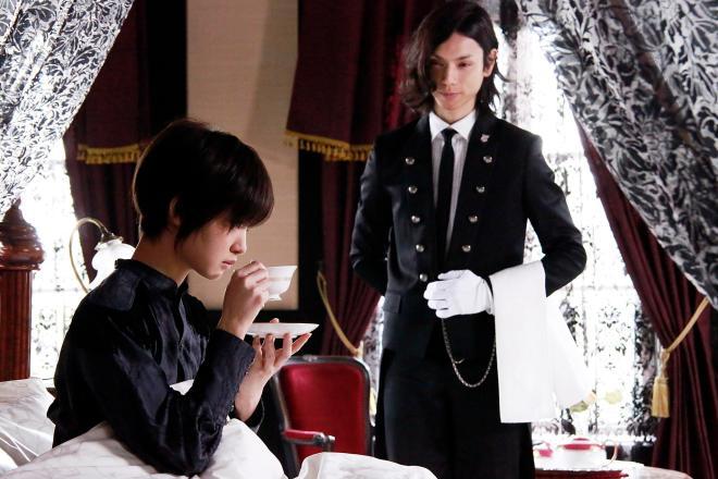 ayame goriki and hiro mizushima BLACK BUTLER