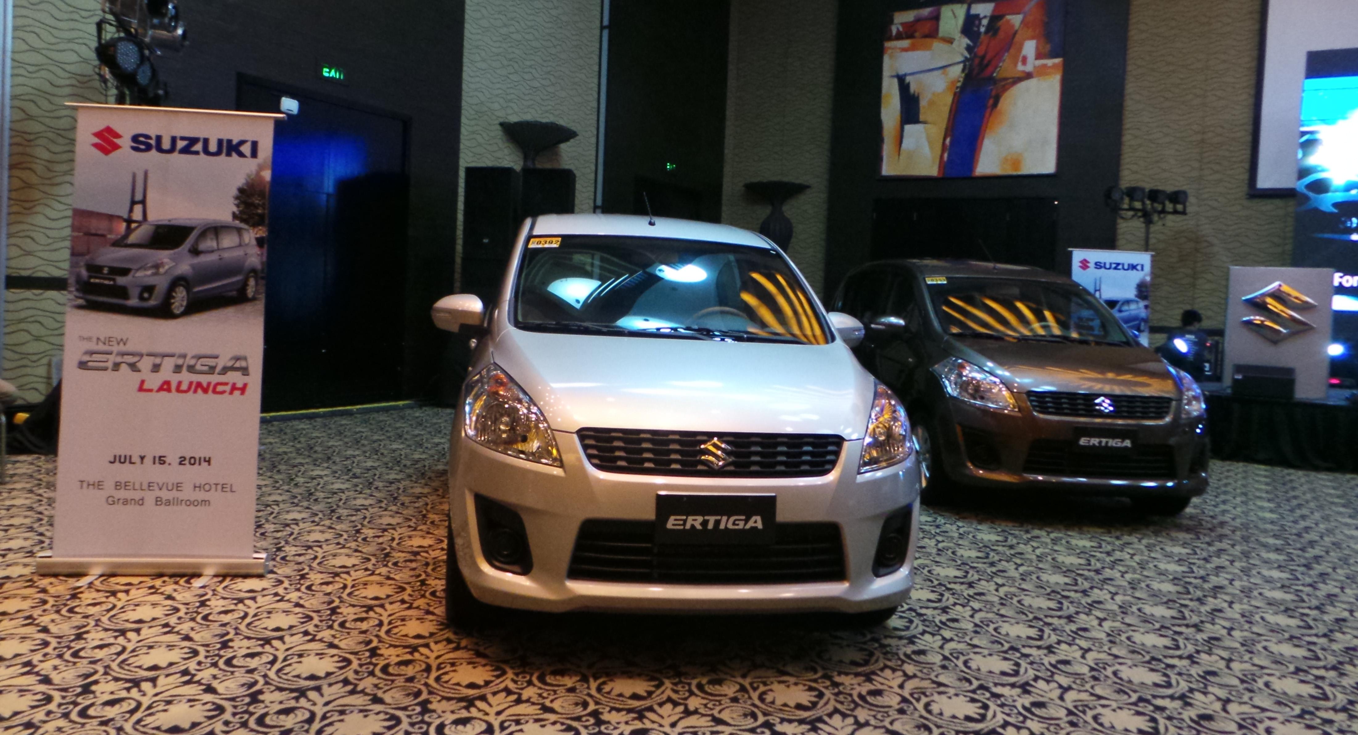 Suzuki Ertiga a 7-seater family Car, Fuel-efficient and feature-rich