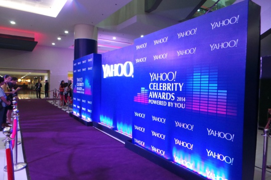 yahoo purple carpet