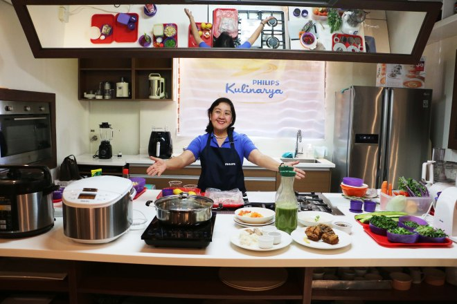 Celebrity Foodie Nancy Lumen