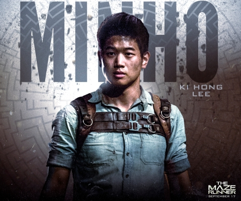 ki hong lee as minho in MAZE RUNNER