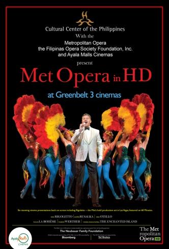 2014 MET Opera at Ayala Malls Cinemas