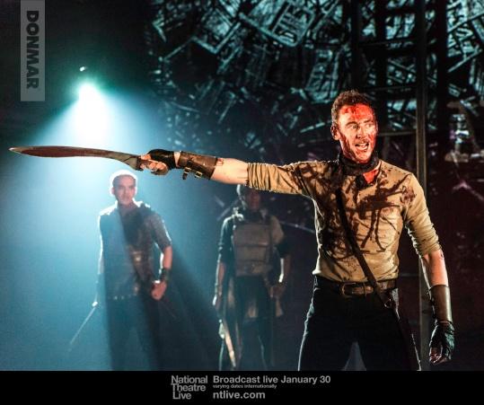 4. Coriolanus (Tom Hiddleston). Photo by Johan Persson.