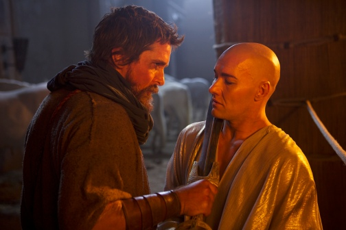 christian bale and joel edgerton EXODUS GODS AND KINGS