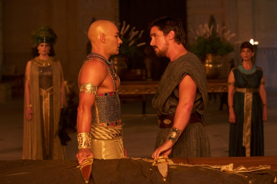 joel edgerton and christian bale EXODUS GODS AND KINGS