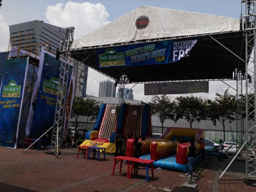 San Marino Event Entrance
