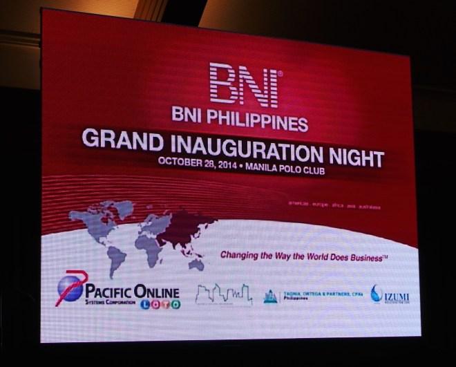 BNI event