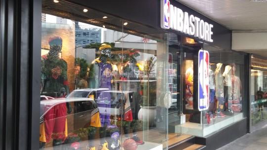 NBA Store 1st floor