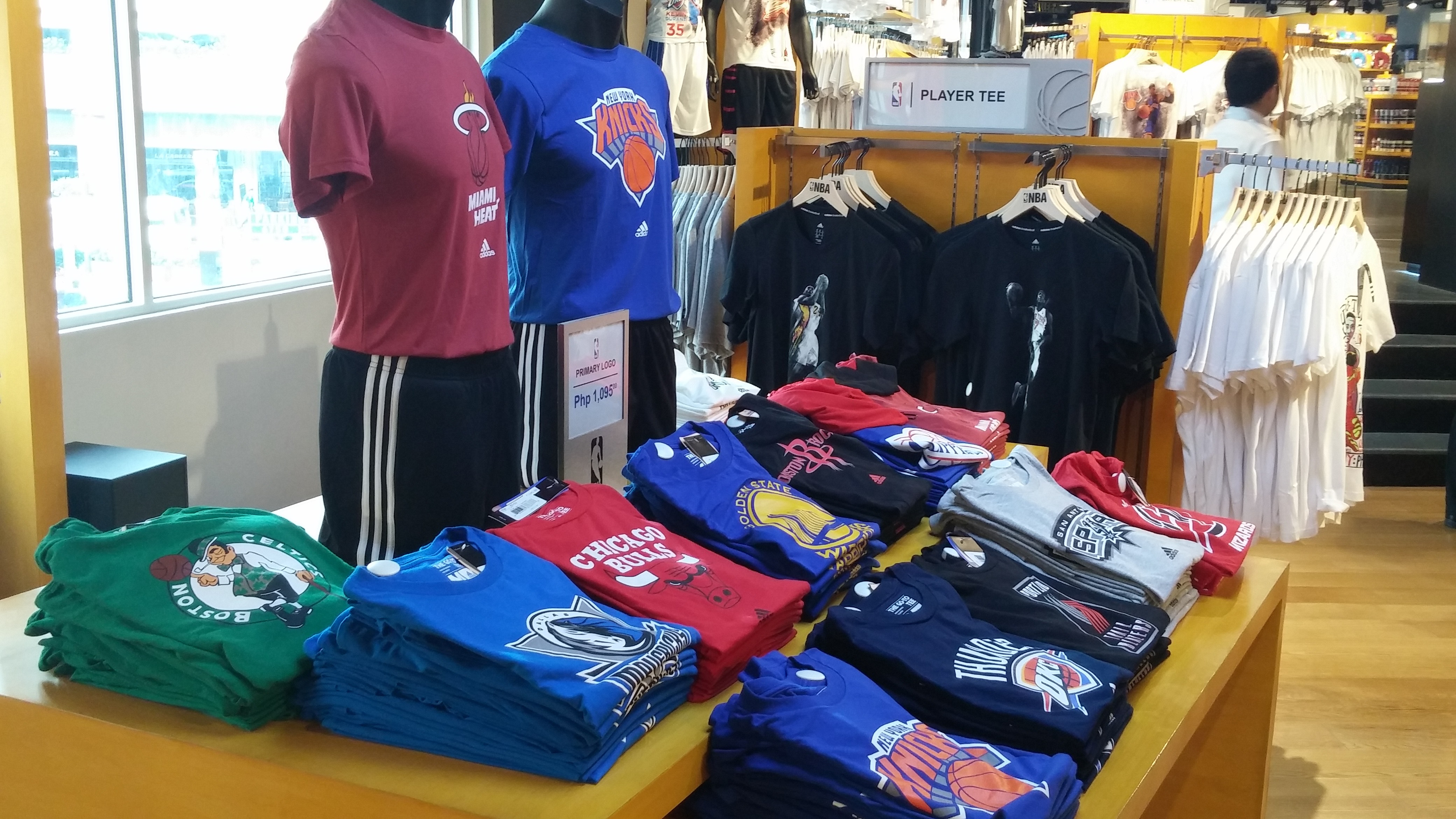 another chance 2a502 6ab4e NBA Store Opens Manila, First NBA Store in Southeast Asia ...