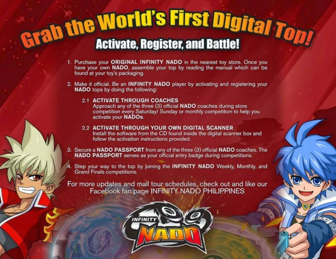 Activate - Register - Battle