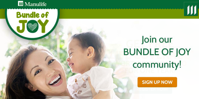 Bundle of Joy signup