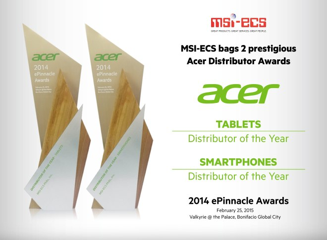 Acer Awards new