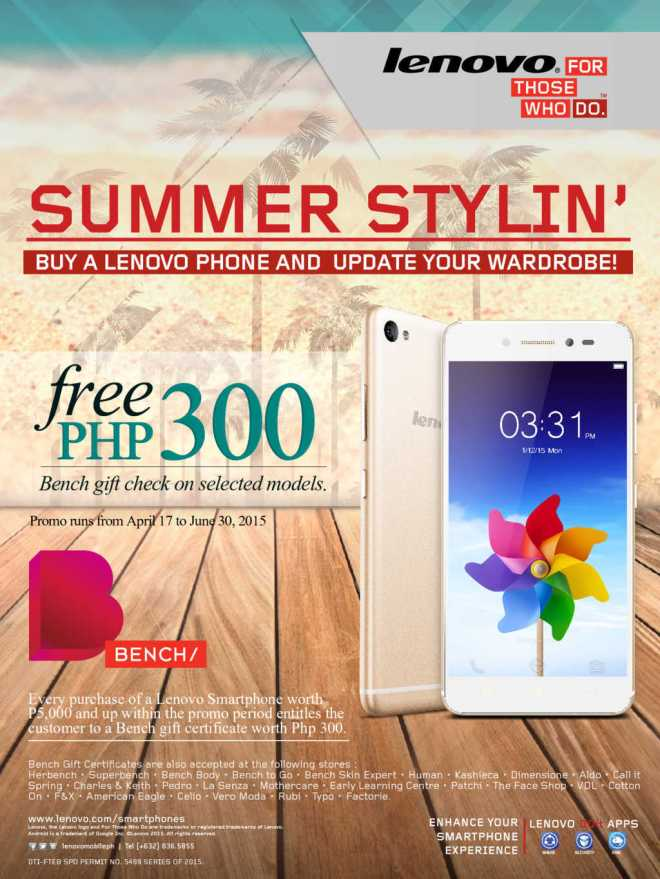 Banish FoMO blues with Lenovo Summer Stylin' Promo
