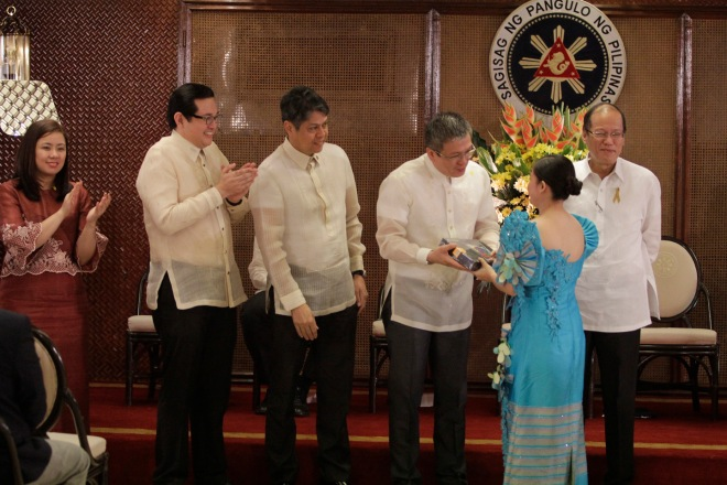 Lenovo honors youth group Order of Asclepius at the TAYO Awards Ceremony