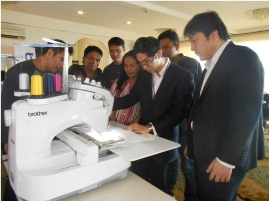 [photo] Brother Philippines Embroidery Machine Training photo