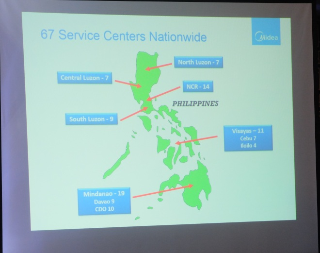 Midea service centers