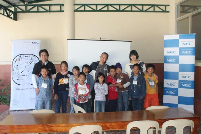 NEC World Chidrens Nature Club and Cordillera Green Network youth