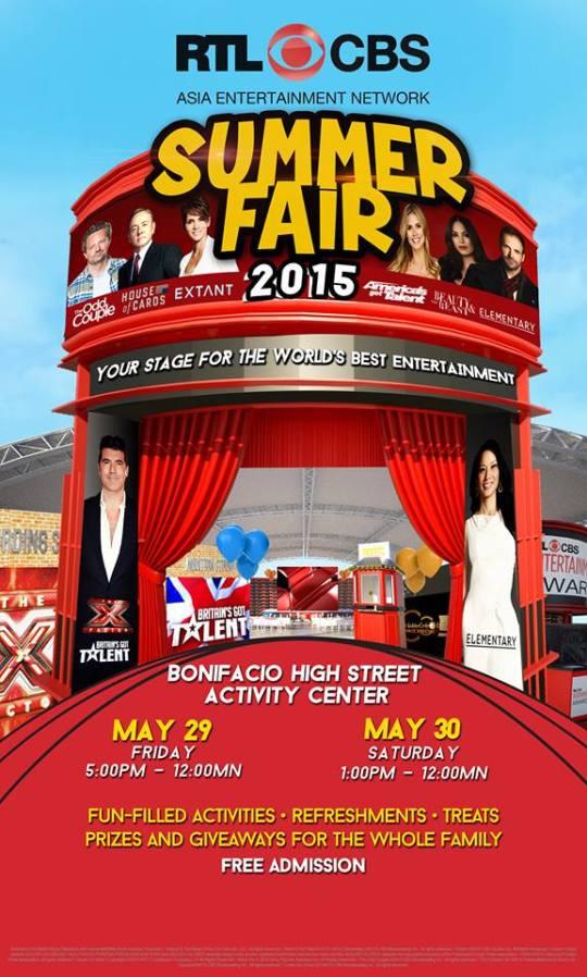 RTL CBS Summer Fair Poster