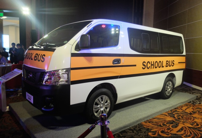 Nissan as School bus