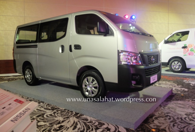 Nissan UrVan NV350 new