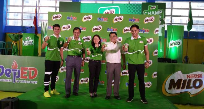 MILO Champ Moves Executive