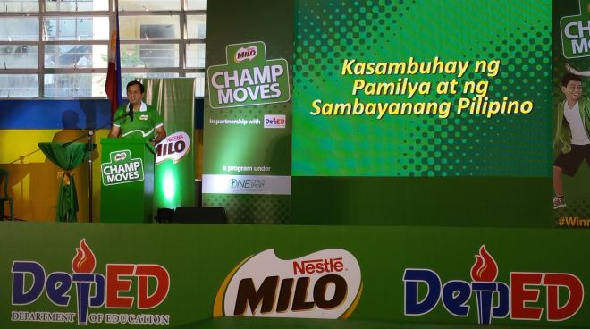 MILO Champ Moves-Kasambuhay