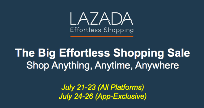 Lazada Effortless Shopping