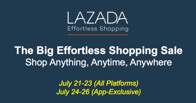 Lazada Effortless Shopping