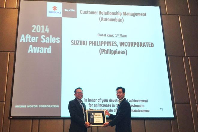 Suzuki Philippines Bags Three Global Awards for Excellence