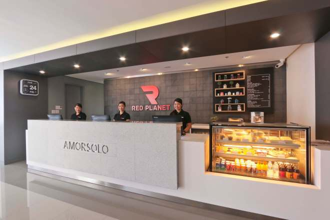 Red Planet Amorsolo Lobby