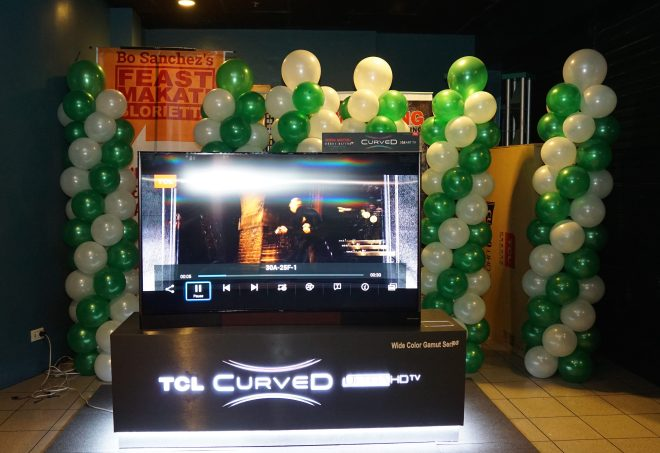 TCL Curved TV