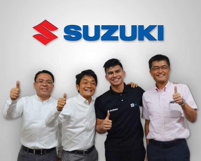 Suzuki renews contract with Kiefer Ravena