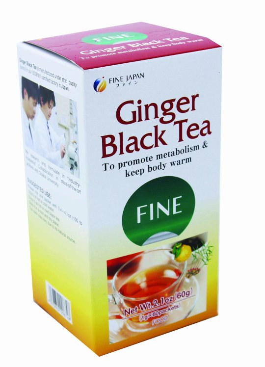 fine ginger tea side