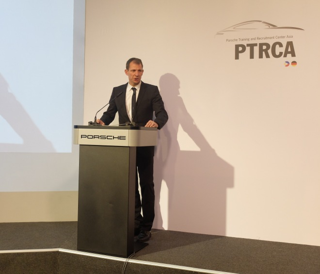 PTRCA Michael Drolshagen, Vice President After Sales Porche AG