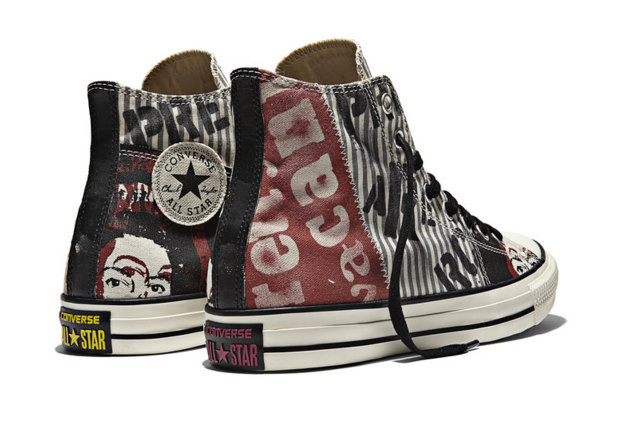 All Star Sex Pistols - Multi High Top Back