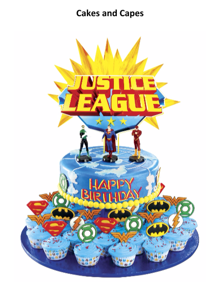 Surprising Celebrate Your Birthday With Goldilocks Dc Heroes Cakes And Capes Funny Birthday Cards Online Alyptdamsfinfo