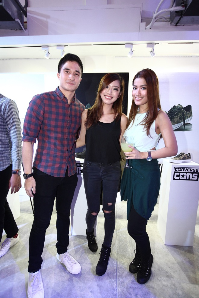 vince velasco, arisse de santos and janina chan