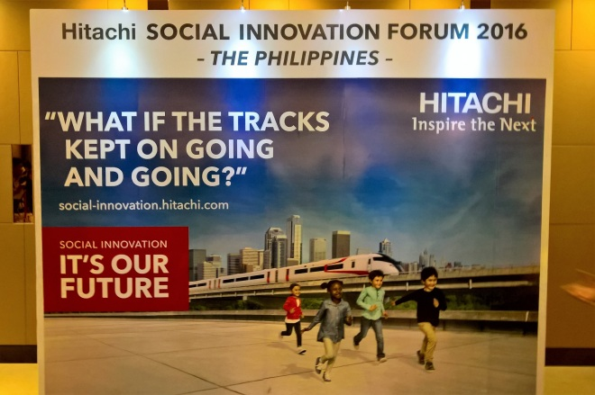Hitachi Innovation - wall