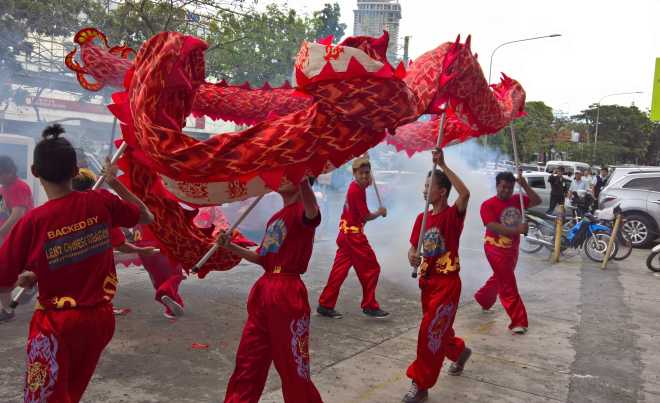 Philam Life - dragon dance