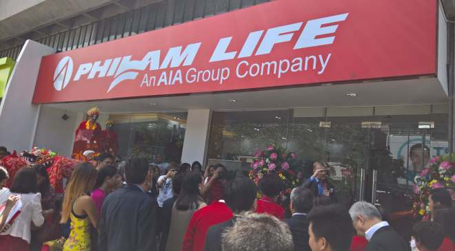 Philam Life - guest Outside